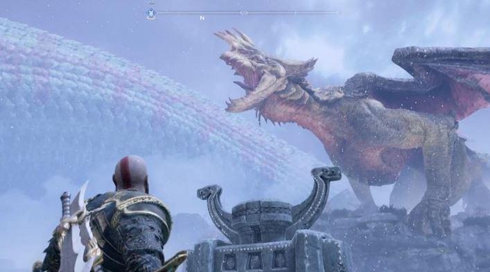 God of War прохождение: где и как освободить драконов