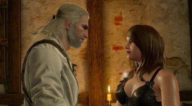 Любовные сцены и романсы в Ведьмак 3