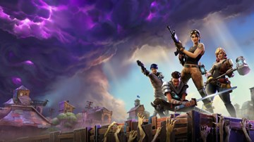 Fortnite: Battle Royale — начало игры, высадка, как выжить