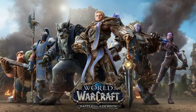 World of Warcraft: Битва за Азерот — выбор сервера и создание персонажа