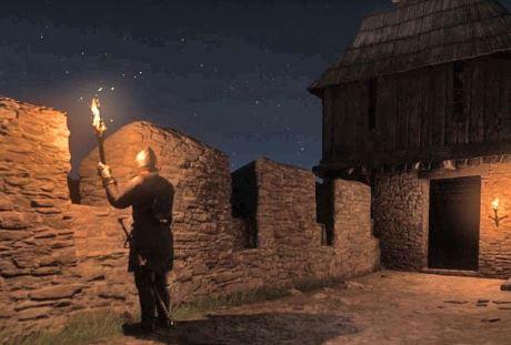 Kingdom Come Deliverance под покровом ночи